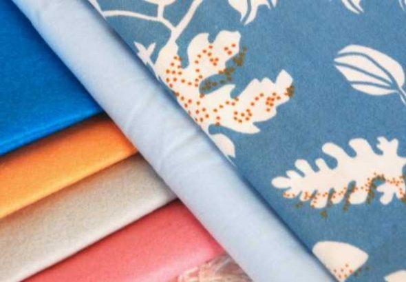 Кусочки ткани и фетра
