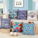 Квадратные наволочки на подушки с разными рисунками