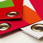 Бумажные папки с металлическими люверсами
