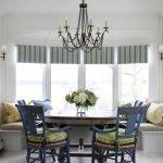 Мягкие подушки для стульев и скамеек у окна