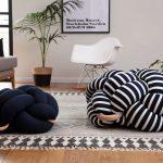 Напольные подушки необычной формы