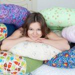 Необычные самодельные напольные подушки