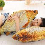 """Очень оригинальная подушка-антристресс """"Рыба"""""""