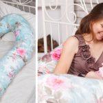 Подушка U-формы для беременных и кормящих