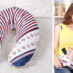 Подушка-бумеранг для беременных и кормящих