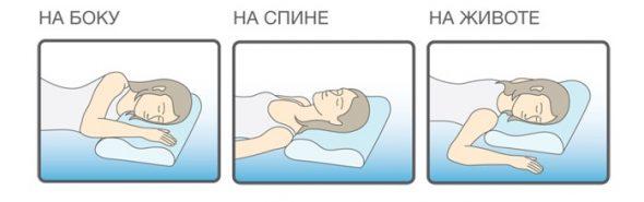Универсальная подушка