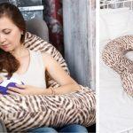 Подушка С-формы для беременных и кормящих
