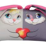 """Подушка """"Зайки в паре"""" - отличный вариант для подарка паре"""