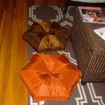 Подушки для пола в виде шестиугольников