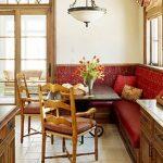 Подушки для стульев и мягкого уголка на кухне
