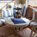 Подушки на стул и для угловых сидений на кухне