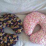 Подушки-рогалики для кормления малышей