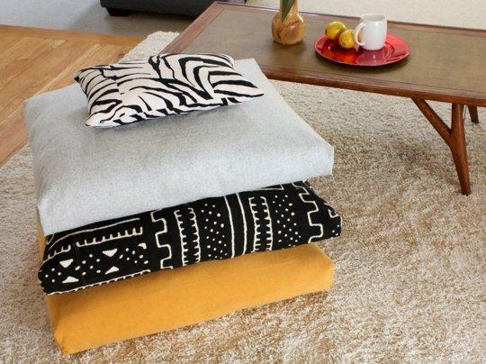 Готовый набор подушек для пола