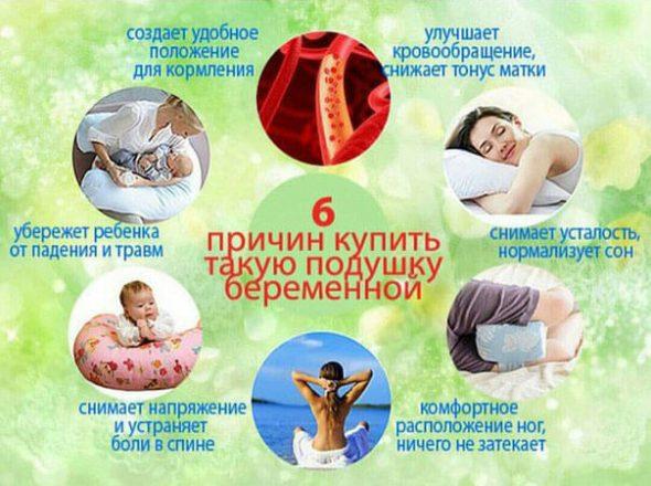 Причины для покупки подушки