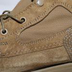 Кожаный ботинок коричневого цвета с люверсами