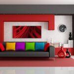 Радужные цвета для диванных подушек - оригинальное решение