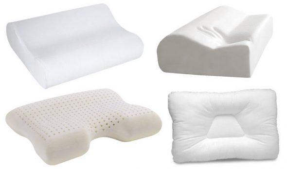 Формы и виды подушек