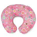 Розовая подушка для кормления
