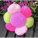 Шикарная махровая подушка-цветок