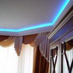 Светодиодная подсветка потолочного карниза
