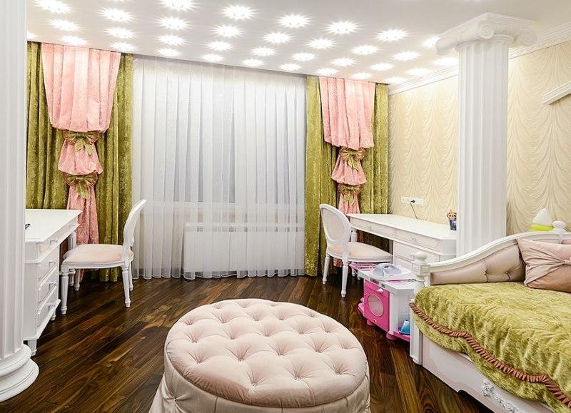 Классический интерьер детской комнаты
