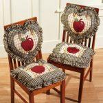 Сидушки и подушки-сердечки с яблочками
