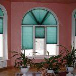 Арочные жалюзи на нестандартные окна