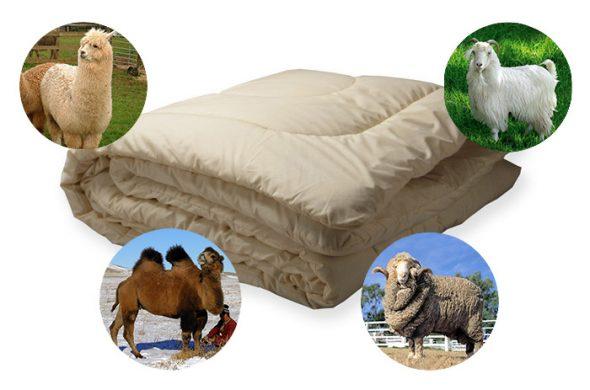 Шерсть для одеял