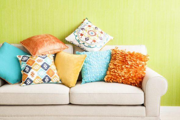 Чехлы декоративных подушек