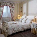 Нежная спальня с текстилем в стиле прованс