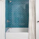Керамическая плитка под кирпич в ванной