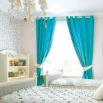 Готовые шторы на люверсах в детскую комнату