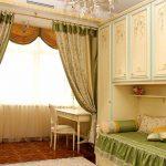 Ламбрекен для спальни в стиле прованс