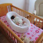 Матрас кокон можно использовать в детской кроватке и в родительской