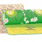 Наматрасник Барвинок создан на основе нетканых объемных полотен из полиэфирных волокон