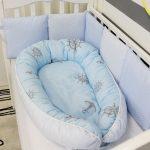 Обычный матрас и матрас-кокон можно использовать в кроватке