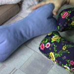 Ортопедические подушки валик, косточка и бублик