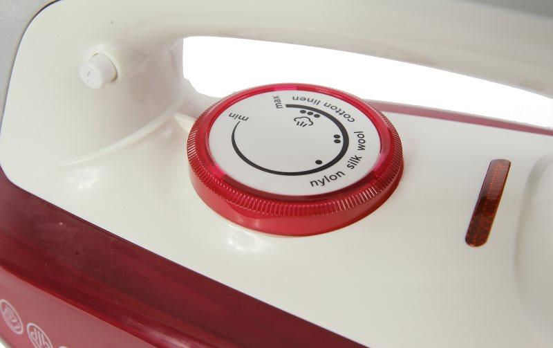 Регулятор температуры на бытовом утюге