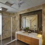 Декоративные ниши в интерьере ванной
