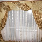 Стильные шторы с ламбрекенами