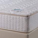 Удобный матрас с жаккардовым покрытием на большую кровать