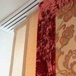 Японские шторы на петлях на липучке являются одними из самых оригинальных