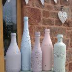 декор бутылок дизайн