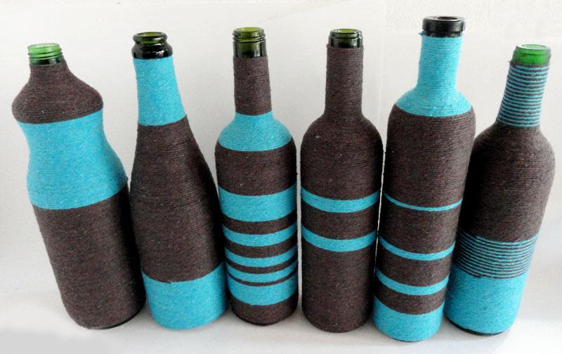 декор бутылок фото дизайн