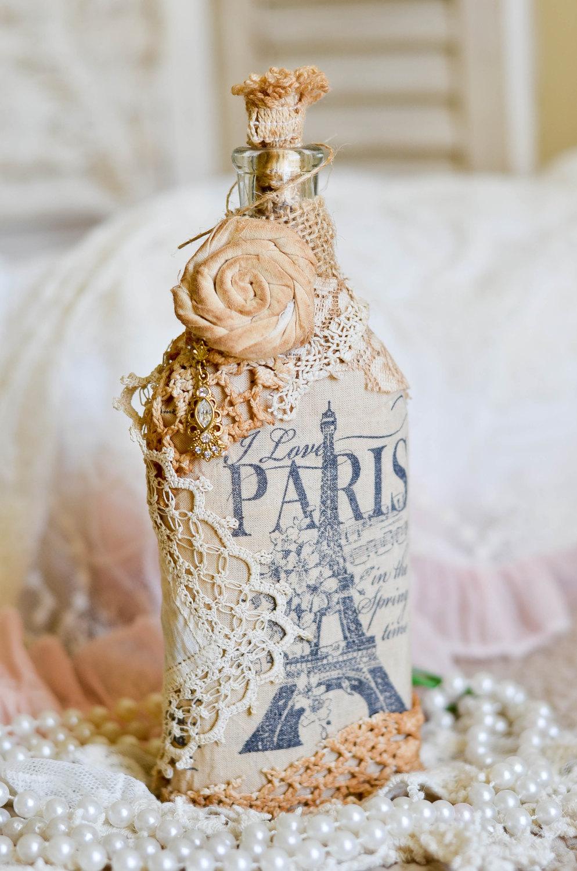 декор бутылок фото оформление