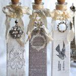 декор бутылок своими руками фото дизайна