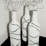 декор бутылок своими руками фото оформления