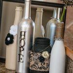 декор бутылок своими руками оформление