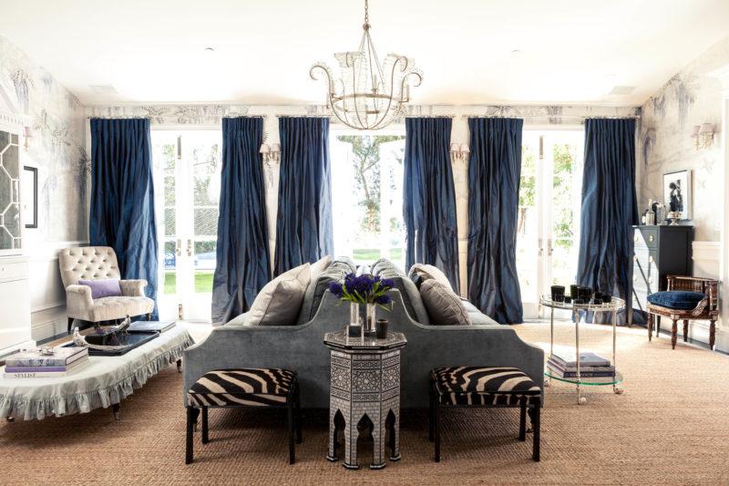 дизайн штор для гостиной фото идеи
