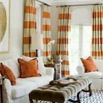 дизайн штор для гостиной идеи интерьер